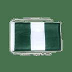 Drapeau avec cordelettes Nigeria - 20 x 30 cm