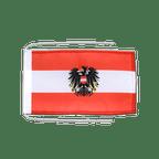 Drapeau avec cordelettes Autriche avec aigle - 20 x 30 cm