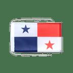 Drapeau avec cordelettes Panama - 20 x 30 cm