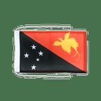 Drapeau avec cordelettes Papouasie-Nouvelle-Guinée - 20 x 30 cm