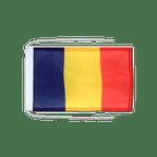 Drapeau avec cordelettes Roumanie - 20 x 30 cm