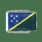 Drapeau avec cordelettes Îles Salomon - 20 x 30 cm