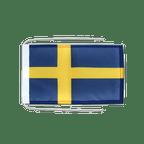 Drapeau avec cordelettes Suède - 20 x 30 cm