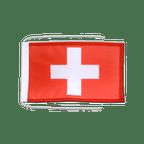 Drapeau avec cordelettes Suisse - 20 x 30 cm