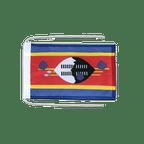 Drapeau avec cordelettes Swaziland - 20 x 30 cm