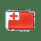 Drapeau avec cordelettes Tonga - 20 x 30 cm