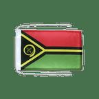 Drapeau avec cordelettes Vanuatu - 20 x 30 cm