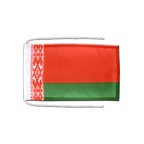 Belarus - Flag with ropes 8x12""
