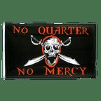 Pirate No Quarter No Mercy - 3x5 ft Flag