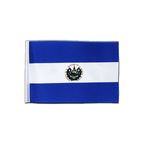 El Salvador - Satin Flag 6x9""