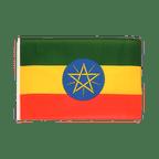 Petit drapeau Éthiopie avec étoile - 30 x 45 cm