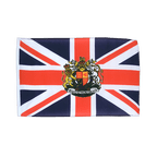 Great Britain with crest - 12x18 in Flag