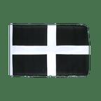 St. Piran Cornwall - Flagge 30 x 45 cm