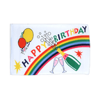 Happy Birthday - Flagge 30 x 45 cm