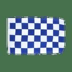 Petit drapeau à Damier Bleu-Blanc - 30 x 45 cm