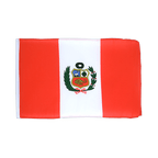 Petit drapeau Pérou - 30 x 45 cm
