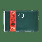 Petit drapeau Turkménistan - 30 x 45 cm