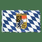 Bayern mit Wappen - Flagge 60 x 90 cm