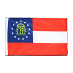 Georgia - Flagge 30 x 45 cm