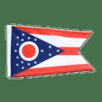 Ohio - 12x18 in Flag