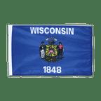 Wisconsin - Flagge 30 x 45 cm