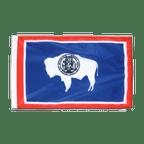Petit drapeau Wyoming - 30 x 45 cm