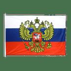 Russland mit Wappen - Hissfahne 100 x 150 cm