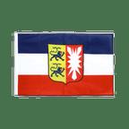 Schleswig Holstein - Hohlsaum Flagge PRO 60 x 90 cm