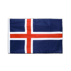 Iceland - Sleeved Flag PRO 2x3 ft