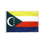 Comoros - Sleeved Flag PRO 2x3 ft