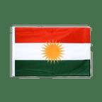 Kurdistan - Hohlsaum Flagge PRO 60 x 90 cm