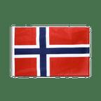Norwegen - Hohlsaum Flagge PRO 60 x 90 cm