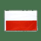 Polen - Hohlsaum Flagge PRO 60 x 90 cm