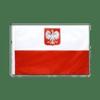 Pavillon Pologne avec aigle Fourreau PRO - 60 x 90 cm