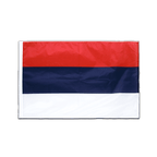 Serbia - Sleeved Flag PRO 2x3 ft