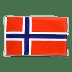 Norwegen - Hohlsaum Flagge ECO 60 x 90 cm