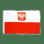 Pavillon Pologne avec aigle Fourreau ECO - 60 x 90 cm