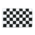 Checkered - Sleeved Flag ECO 2x3 ft