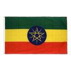 Ethiopia with star - Premium Flag 3x5 ft CV