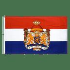 Niederlande mit Wappen - Hissflagge 90 x 150 cm CV