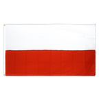 Drapeau Pologne - 90 x 150 cm CV