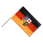 Saarland - Hand Waving Flag PRO 2x3 ft