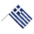 Greece - Hand Waving Flag PRO 2x3 ft