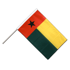 Guinea-Bissau - Hand Waving Flag PRO 2x3 ft