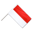 Indonesia - Hand Waving Flag PRO 2x3 ft