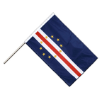Cape Verde - Hand Waving Flag PRO 2x3 ft