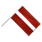 Latvia - Hand Waving Flag PRO 2x3 ft