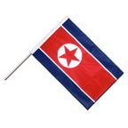 North corea - Hand Waving Flag PRO 2x3 ft