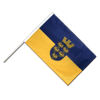 Lower Austria - Hand Waving Flag PRO 2x3 ft