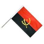 Angola - Hand Waving Flag PRO 2x3 ft